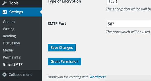 Grant permission