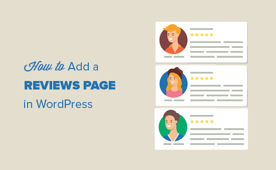 Adding a reviews page in WordPress