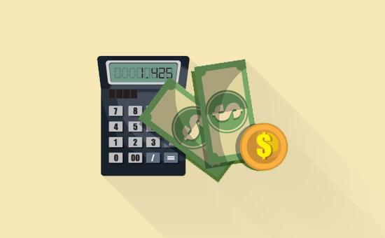 Cálculo do custo de construção de um site WordPress