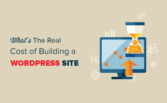 How much does it cost to build a WordPress site?