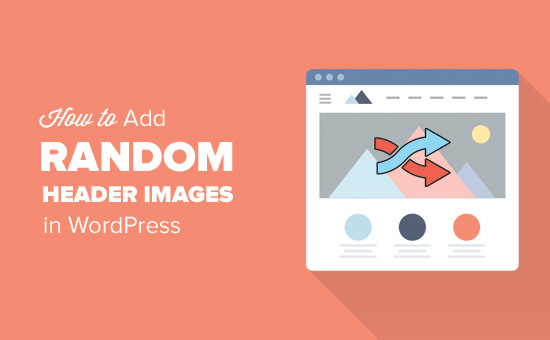 How to add random header images in WordPress