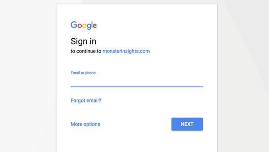 Conectați-vă sau selectați-vă contul Google pentru a continua