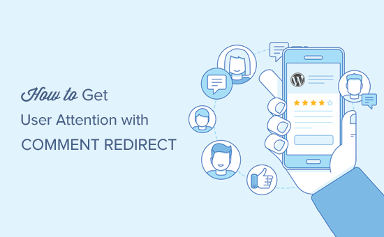 Redirect Your User's attention with Comment Redirect