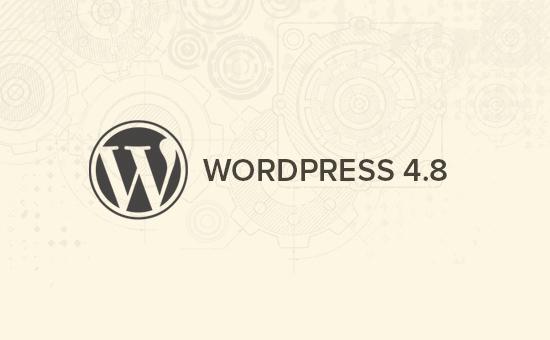 Lo que viene en WordPress 4.8