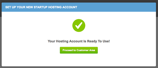 Successfully installed WordPress on new SiteGround account