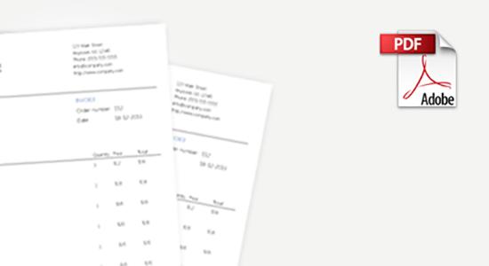 WooCommerce PDF Счета
