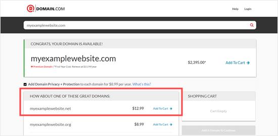 Domain .net sedang dipromosikan sebagai alternatif dari .com