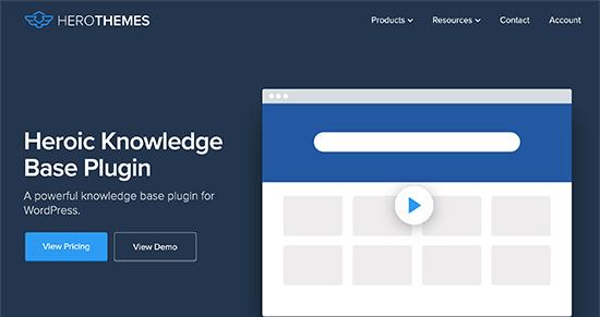 Plugin WordPress HeroicKB