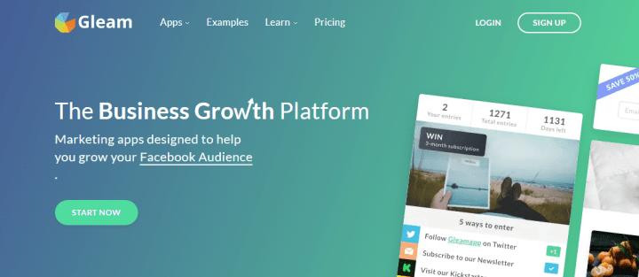 gleam free wordpress giveaway plugin and giveaway site