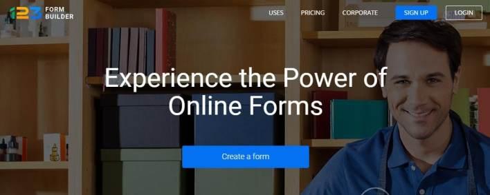 123formbuilder top google forms alternatives