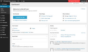 WordPress 3.8 Admin Design