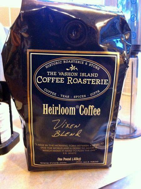 Vixen blend coffee