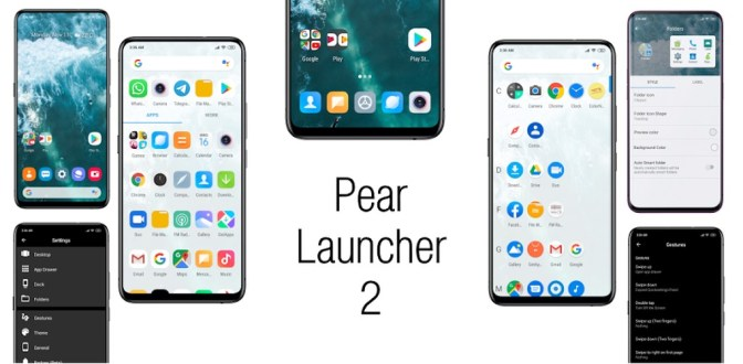 Pear Launcher 2.0.9 Apk + Mod for Android – xDroidApps
