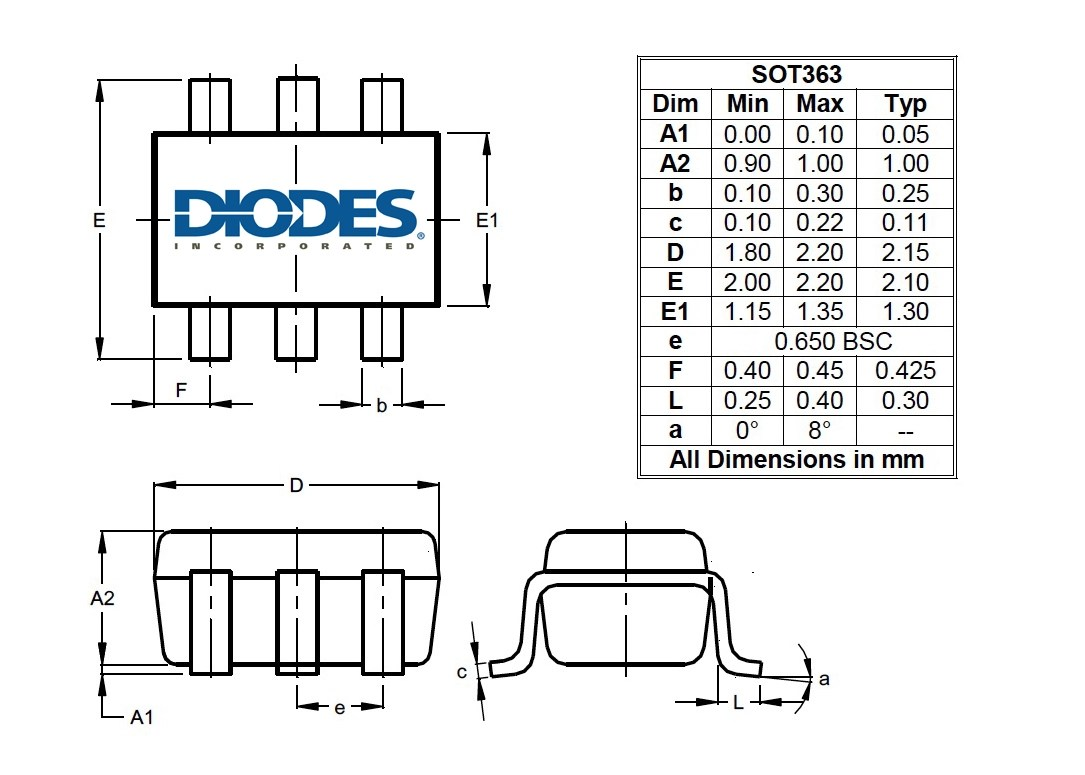 Og Spdt Switch From Diodes Features Low Ron For Signal