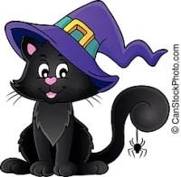 halloween cat clipart free