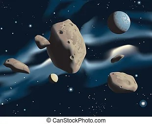 Asteroid Illustrations and Clipart. 14,349 Asteroid ...