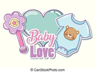 Download Baby clemency concept. baby love album. | CanStock