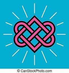 Download Celtic design - peace symbol. An illustration of a celtic ...
