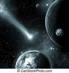 Asteroid Illustrations and Clipart. 8,537 Asteroid royalty ...