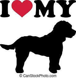 Download I love my dog Vector Clip Art Illustrations. 301 I love my ...