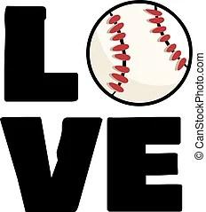 Love baseball Clipart Vector and Illustration. 669 Love ...