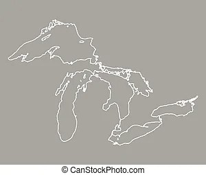 Great lakes Illustrations and Clipart. 939 Great lakes ...