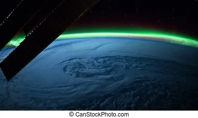 Nasa earth. Created with public domain images from nasa ...