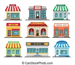 stores and shops buildings business