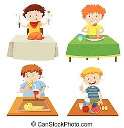 table manger enfants cantine table