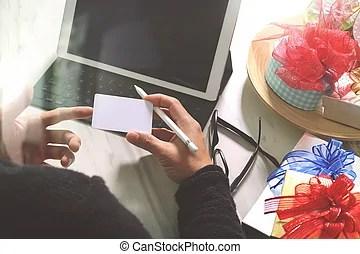 don donne creatif main choisir et main a gift