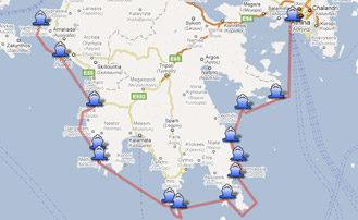 Yachts Sales Yachts Charters In Greece Gt Interactive Map