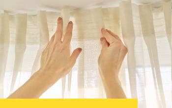 洗窗簾好麻煩,教你不用拆的窗簾清潔方法!