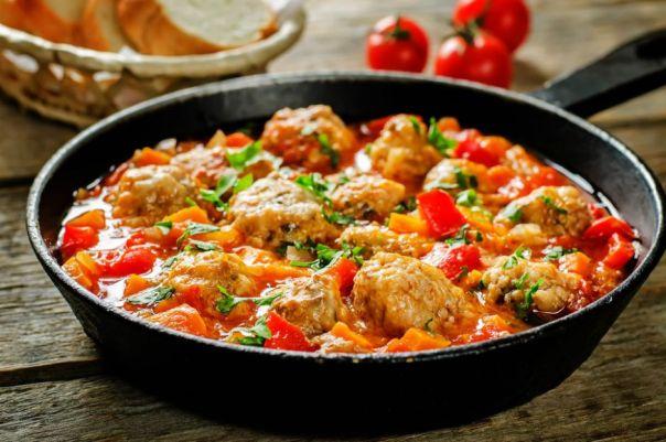firinda sebzeli kofte 12 Tane Basit, Hızlı ve Doyurucu Sulu Yemek Tarifleri