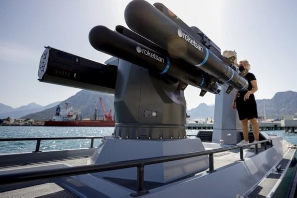 Foto - İnsansız sistemleriyle dünya markası olan Türkiye, göklerden sonra denizlerde de Denizkurdu 2021 Tatbikatı kapsamında ilk kez kullanılan Türkiye'nin ilk silahsız muharip deniz aracı SİDA ile iddiasını ortaya koydu. Demir,