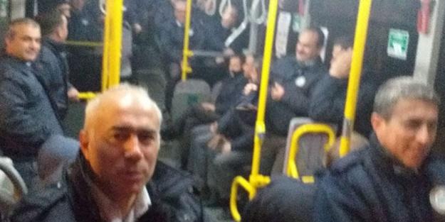 Pes dedirten görüntü! CHP'li belediye otobüs şoförlerine böyle yolculuk yaptırdı