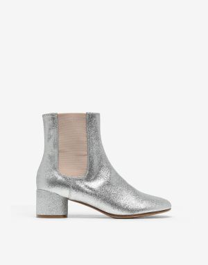 Mm6 By Maison Margiela Ankle Boots Silver