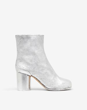 Maison Margiela Tabi Boots & Ankle Boots Silver