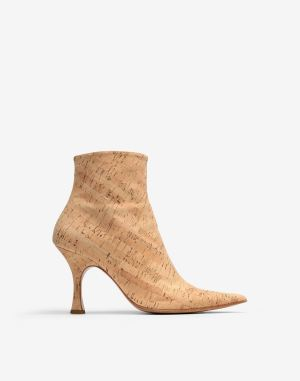 Mm6 By Maison Margiela Ankle Boots Beige