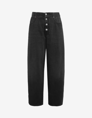 Mm6 By Maison Margiela Jeans Black Cotton