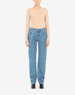 Mm6 By Maison Margiela Jeans Blue