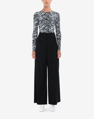 Mm6 By Maison Margiela Casual Pants Black