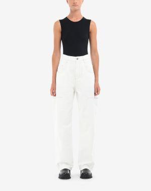 Maison Margiela Casual Pants White