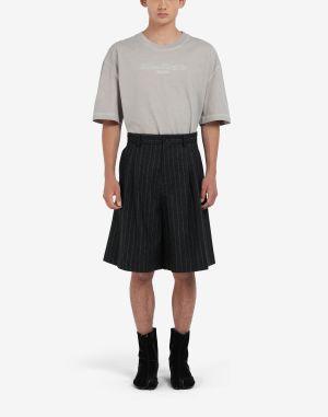Maison Margiela Shorts And Bermudas Steel Grey