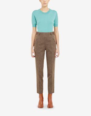 Maison Margiela Casual Pants Brown