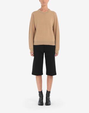 Maison Margiela Crewneck Sweater Camel
