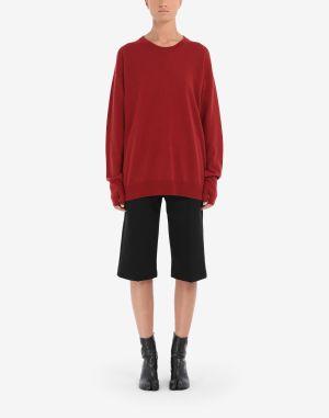 Maison Margiela Crewneck Sweater Red