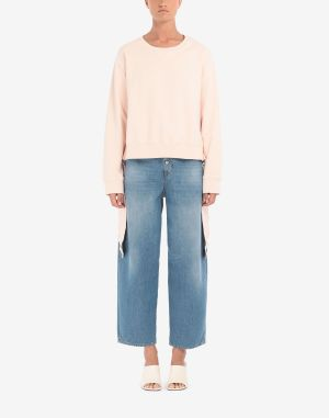 Mm6 By Maison Margiela Sweatshirt Light Pink