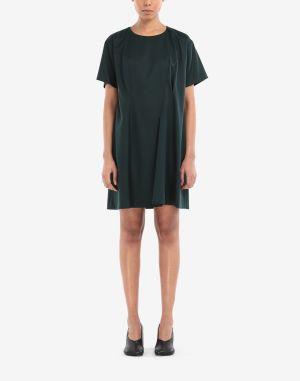 Mm6 By Maison Margiela Dress Deep Jade