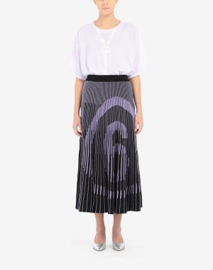 Mm6 By Maison Margiela Skirt Purple