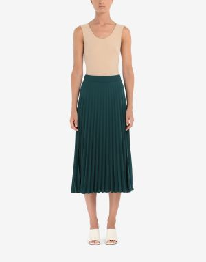 Mm6 By Maison Margiela Skirt Emerald Green